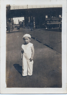 Toddler Mike Tierney, about 1929.