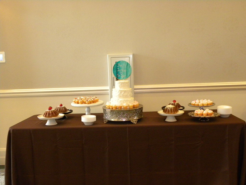Pound Cake Buffet Table@ The Terraces On Sir Tyler