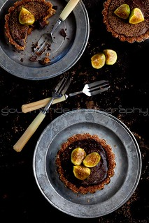 Chocolate Fig Tarts | Fresh Figs in Good Company