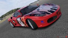race car(1.0), automobile(1.0), vehicle(1.0), ferrari 458(1.0), performance car(1.0), automotive design(1.0), ferrari f430 challenge(1.0), ferrari f430(1.0), land vehicle(1.0), luxury vehicle(1.0), sports car(1.0),