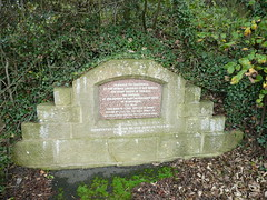 Memorial stone for animal welfare