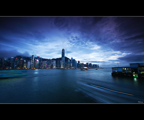 sunset storm reflection skyline night clouds canon island lights long exposure hong kong 7d tamron