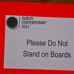 Dublin Contemporary 2011 Is  A Contemporary Art Exhibition - A Laser Printer Is A Wonderful Device Which can Be Over Used