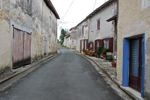 Rue en pente -Sloping street