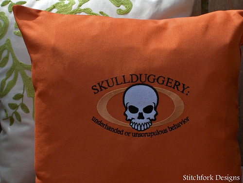 skullduggery close up