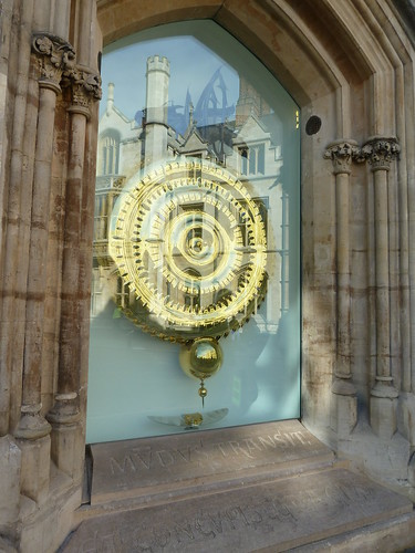 Corpus Clock with 'Grasshopper Escapement', Cambridge, England