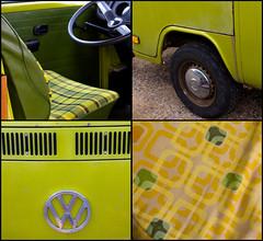 retro green love