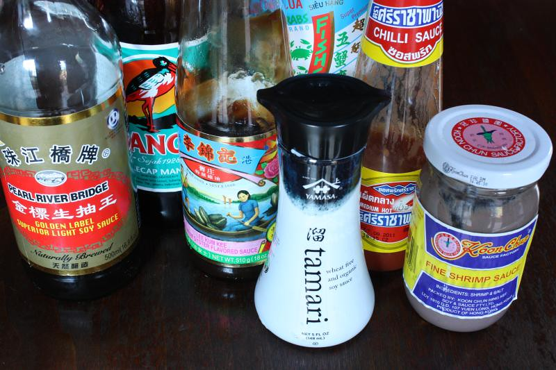 gluten free asian sauces