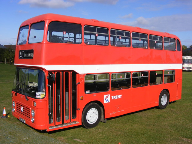 Bristol VRTSL3/ECW: 837 BRC837T Trent  Showbus 2011 by emdjt42