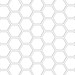 hexagon pattern template - standard mel stampz