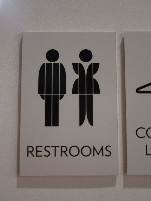 Cute Bathroom Sign At NCMOA Flickr Photo Sharing
