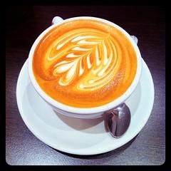 Flat White Coffee @ 65 Degrees