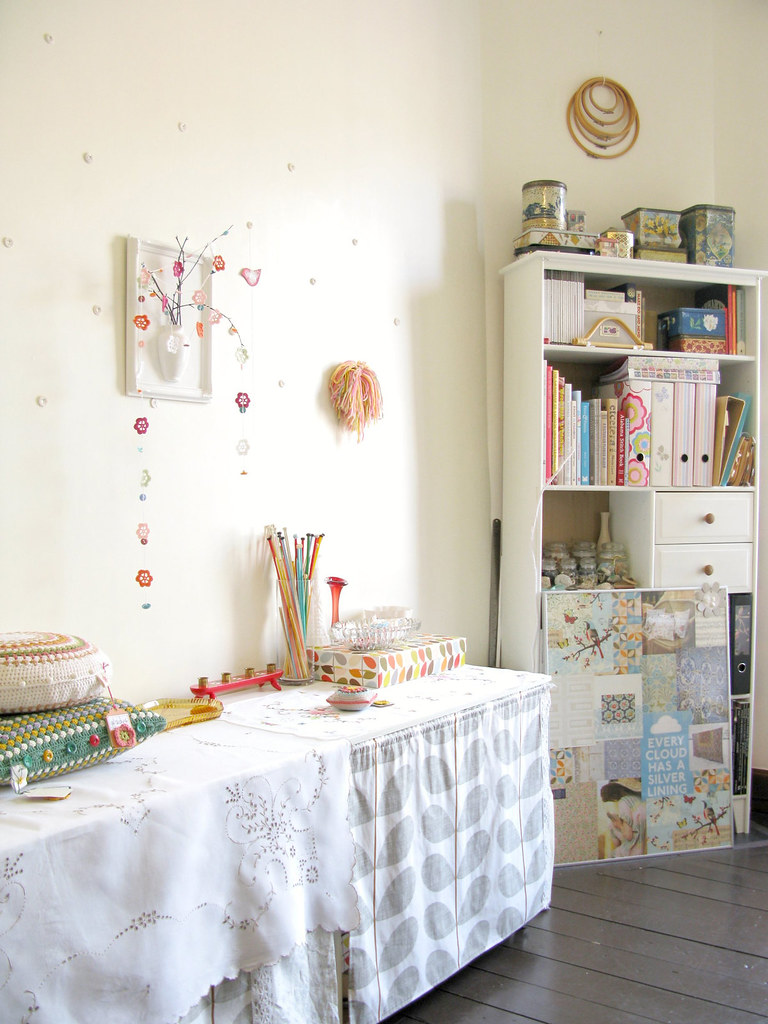 I do love a tidy studio! | Emma Lamb