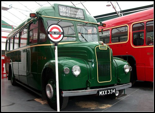 London transport GS34 . London Bus museum 18/09/11.