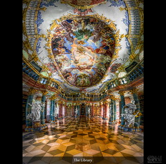 The Library (HDR Vertorama)