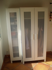 Galleries armoire aneboda 1 porte 40x40x180 cm 40 for Armoire ikea porte coulissante
