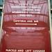 058 MR Cen Information Sign by edgehillsignalman