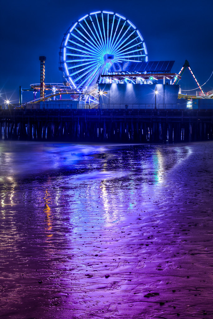 Santa Monica Reflections
