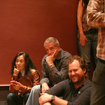 Mark Olson, Gary Louris, Karen Grotberg, Tim O'Reagan and Marc Perlman, at Electric Lady Studios in NYC for an audience of WFUV members. Hosted by Darren DeVivo. Photo by Laura Fedele