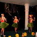 Mailani Dinner show Hula dancers with Kala'au rhythm sticks and Hui'hui feathered rattles St Regis Kauai