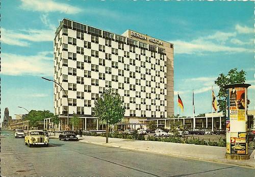 berlin - hilton hotel by hansaviertel