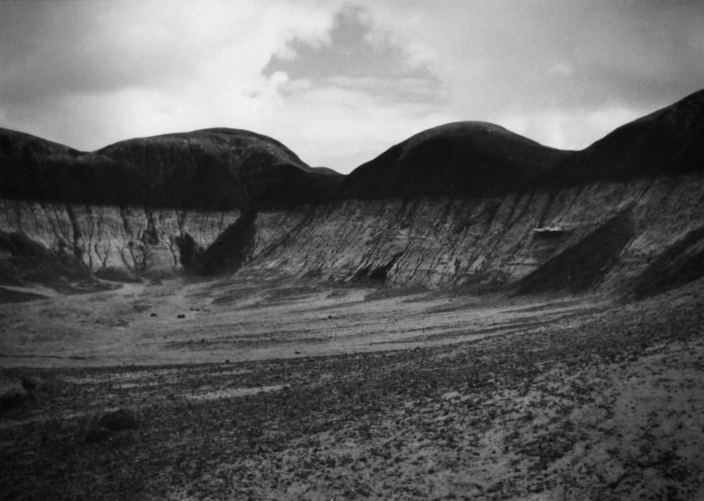 1990, Film post processed, Painted Desert, Arizona by Juli Kearns (Idyllopus)
