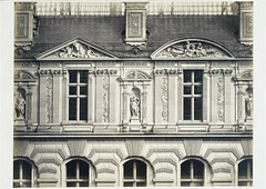 The Louvre, Cour Visconti, c.1853-75, by Edouard Baldus