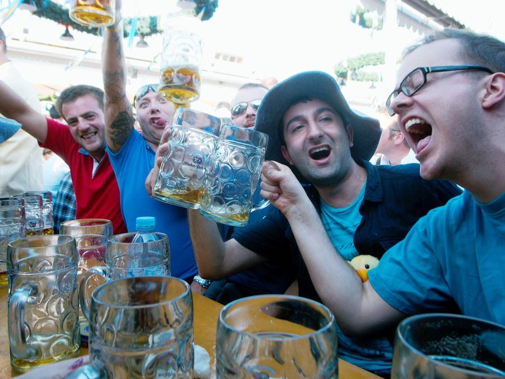 Oktoberfest, Drinking, Activity, Fun, Chanting, Celebration