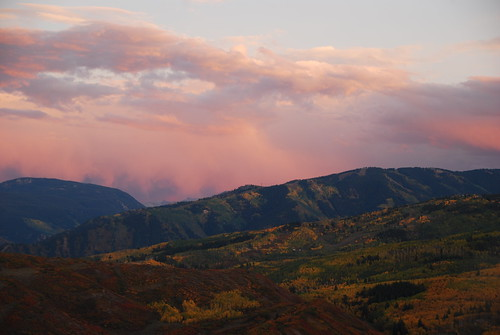 sunset fall weather clouds evening colorful village sunsets foliage ridge glorious trail valley stunning essence aspen snowmass