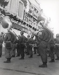 Marines Arrive in Pusan, Korea, 2 August 1950