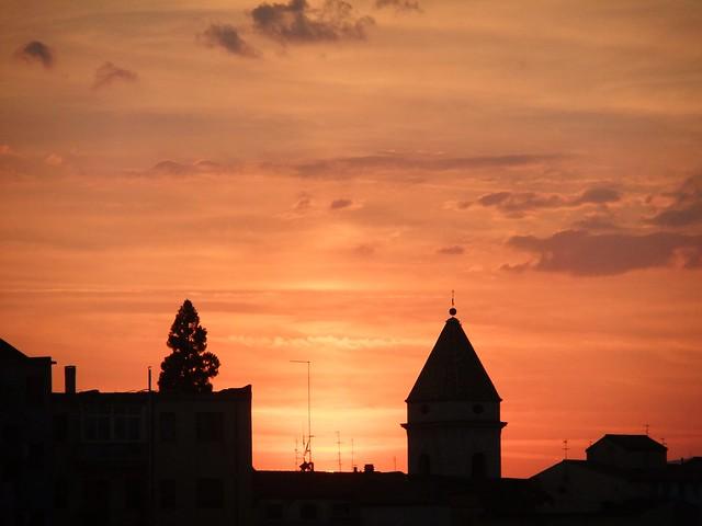 tramonto campobassano, Fujifilm FinePix F72EXR