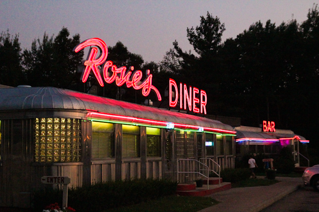 Rosie's Diner Rockford Gotcha Day Dinner September 01, 201114