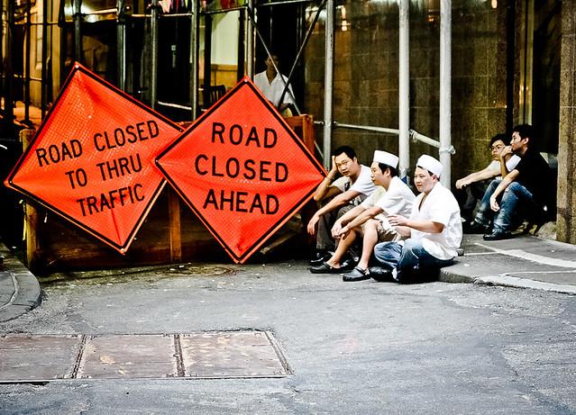 Closed Road Spot