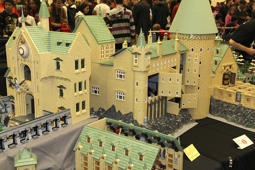 LEGO Harry Potter: Hogwarts Castle by Alice Finch at Brickcon 2011