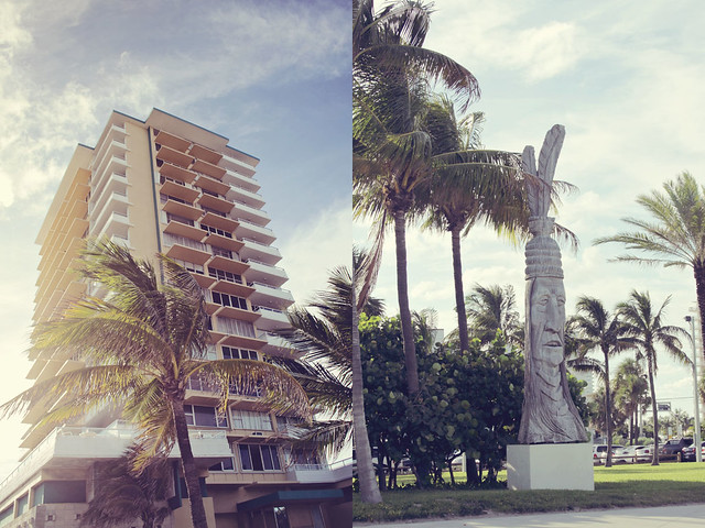 Fort Lauderdale beach diptych 5