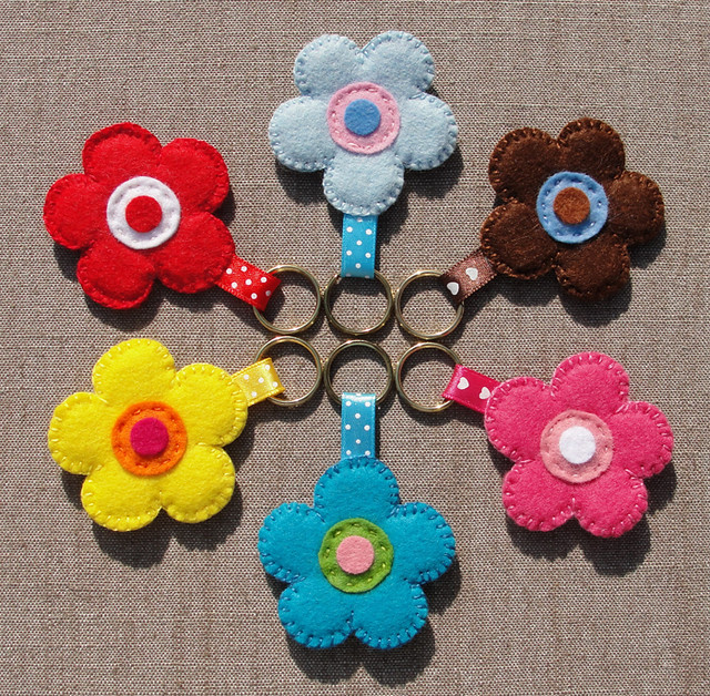 craft ideas using felt felt keychains vilten sleutelhangers set 1 flickr 3948