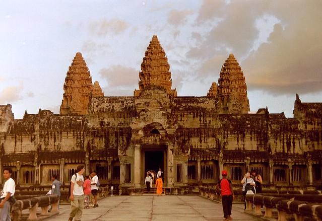 Angkor Wat by CC user azwegers on Flickr