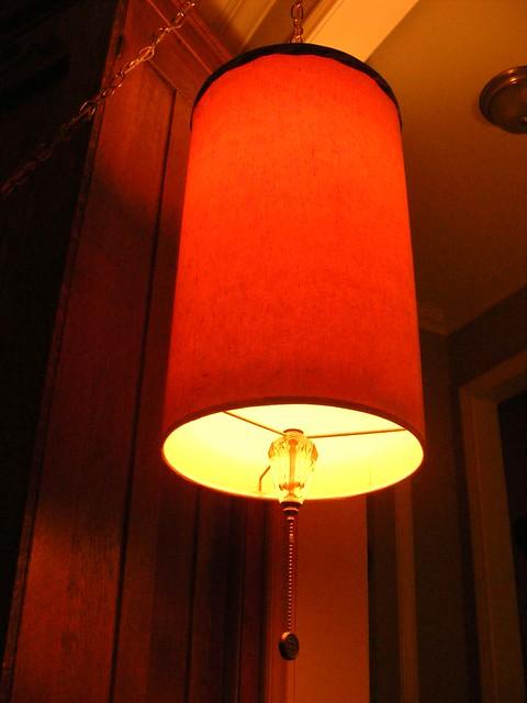 1950 39 S Mid Century Modern Hanging Pendant Swag Lamp