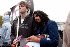 Stop War Coalition Occupy Trafalgar Square