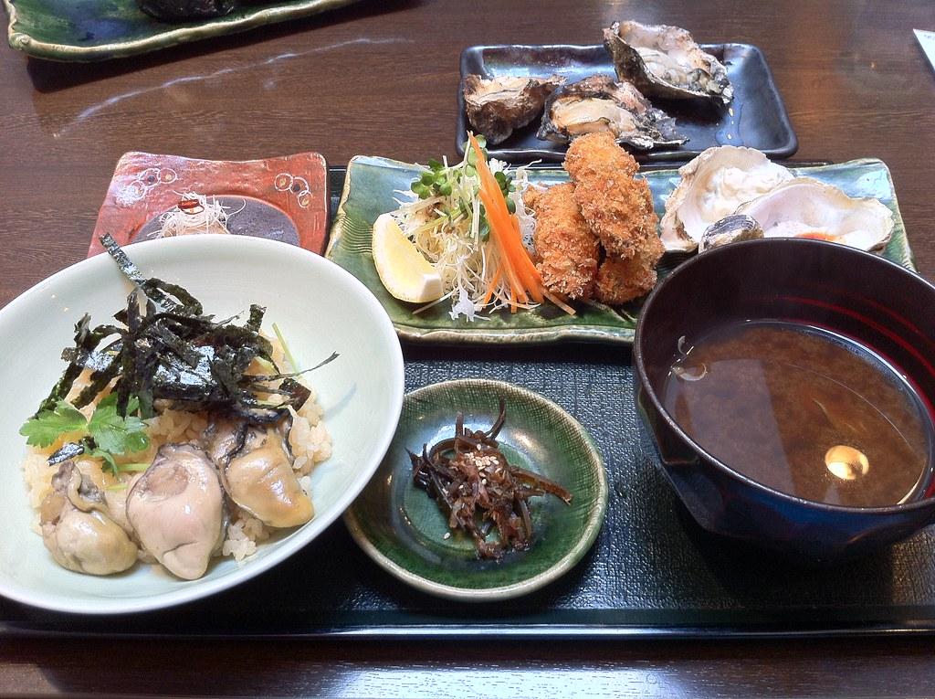 牡蠣屋, 宮島, Miyajima