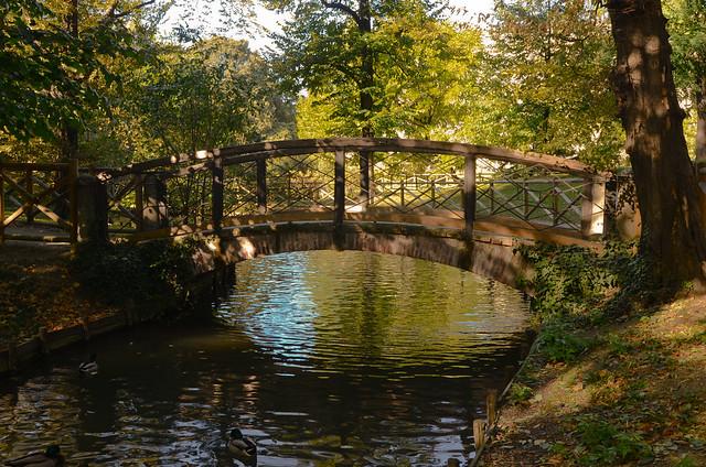 Giardini di villa reale the gardens of villa real in for Via giardini milano