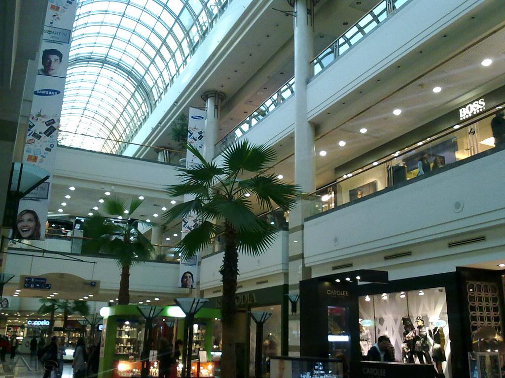 Los centros comerciales shopping plazas de las ciudades for Centros comerciales en santiago de chile