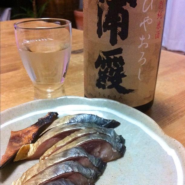 Photo:鯖の冷燻に浦霞ひやおろし。ボン マリアージュ(笑) By klipsch_soundman