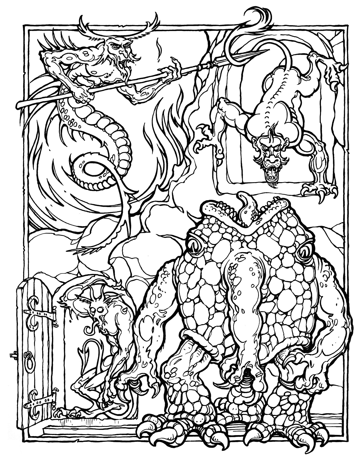 book coloring pages - photo#49