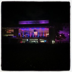 The awesome National Constitutional Center from last nights #edu11 party.