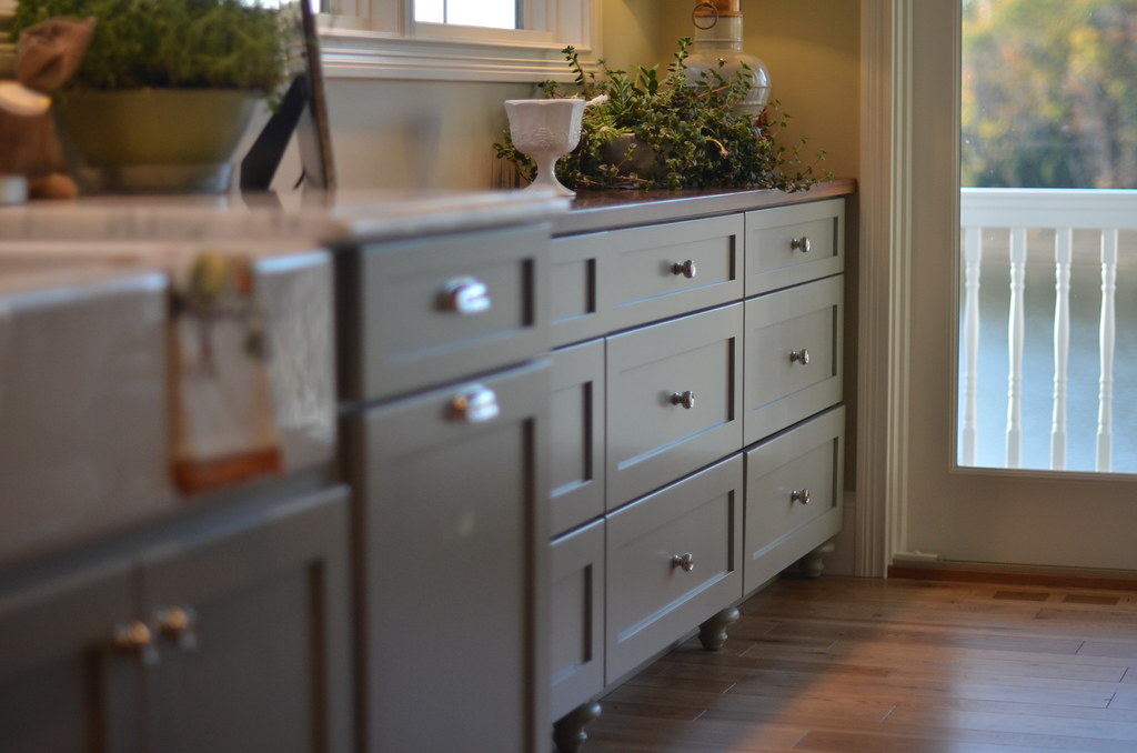 31 days day 21 cabinetry life in grace - Kitchen cabinet feet ...