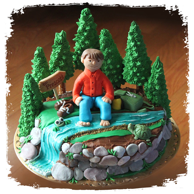 Hiking Cake: Photo