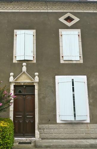Bellocq, Pyrénées Atlantiques: porte