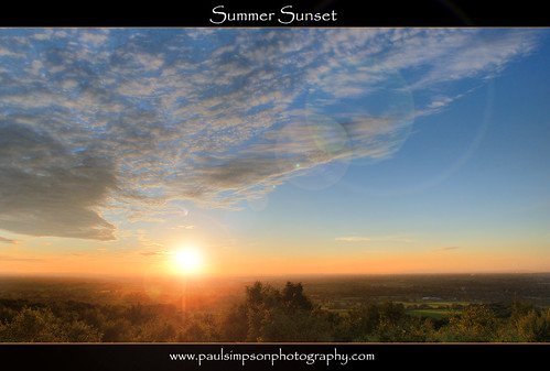 uk sunset england nature cheshire sunny bluesky naturalworld mothernature summerwarmth summercolours july2011 naturescreations paulsimpsonphotography