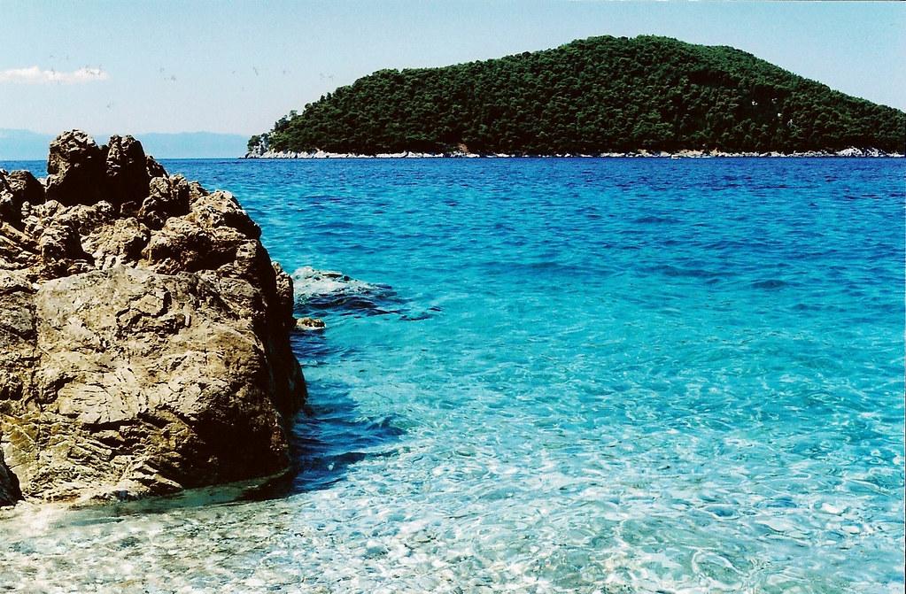 остров Skopelos